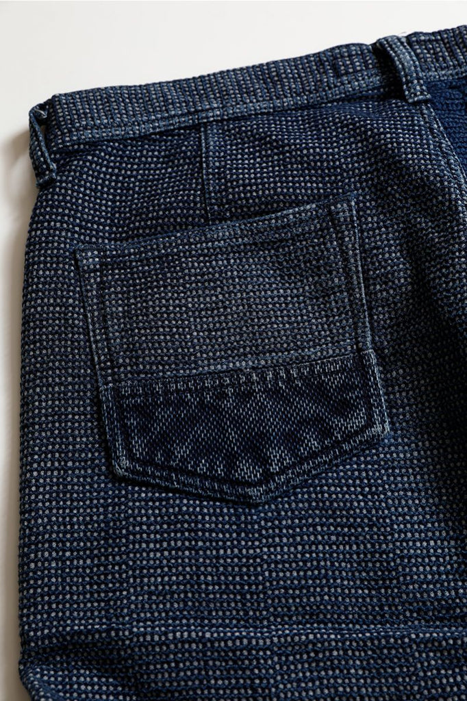 FDMTL - Cropped Boro Pants 2 YR Wash