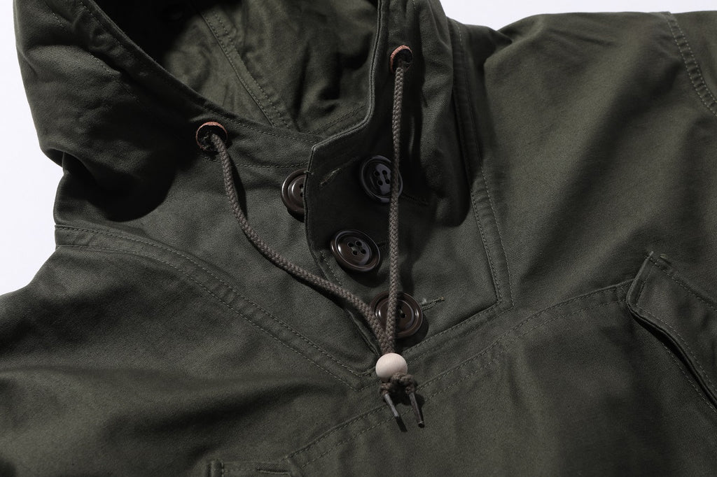 The Real Mccoy's - Field Parka, Cotton, O.D