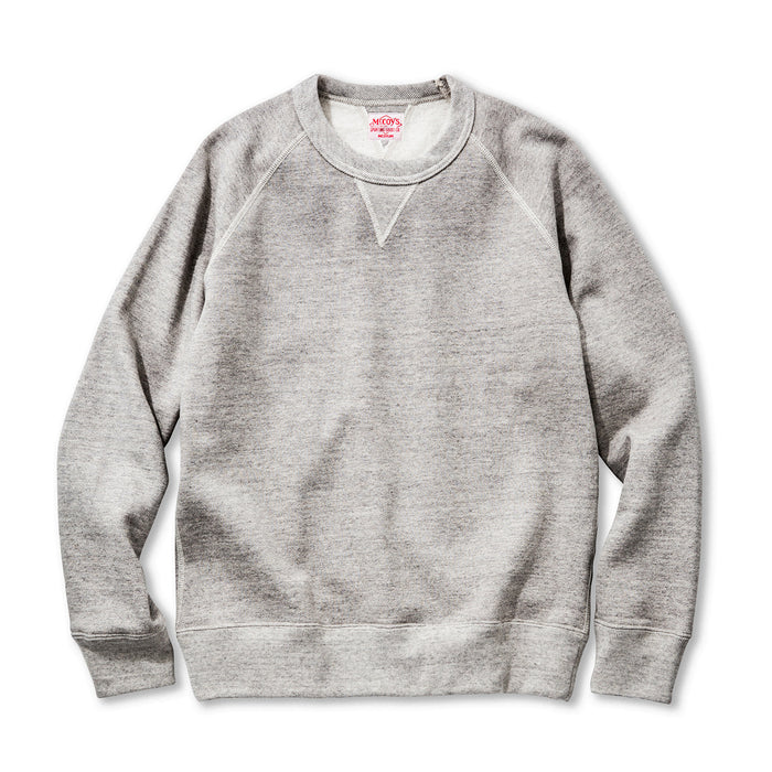 The Real McCoy's - Joe McCoy Grey Sweatshirt