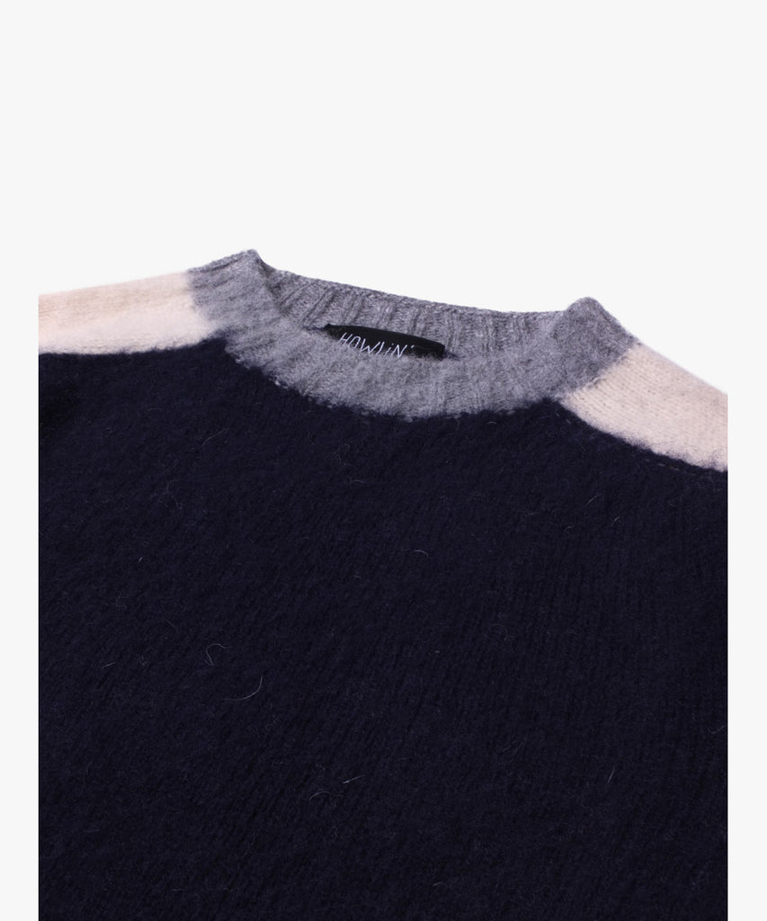 Howlin' - Megatron Man Navy Knit Sweater