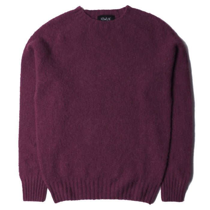 Howlin' - Birth Of Cool Bordeaux Knit Sweater