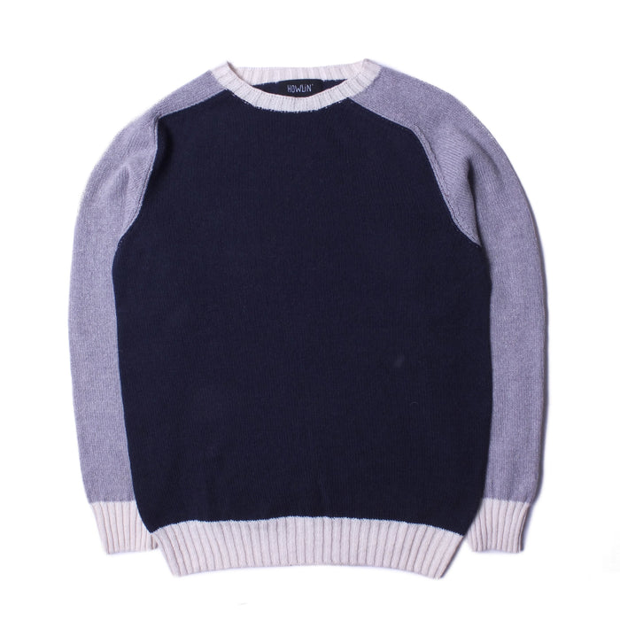 Howlin' - Navy Kaotic Harmony Knit Sweater