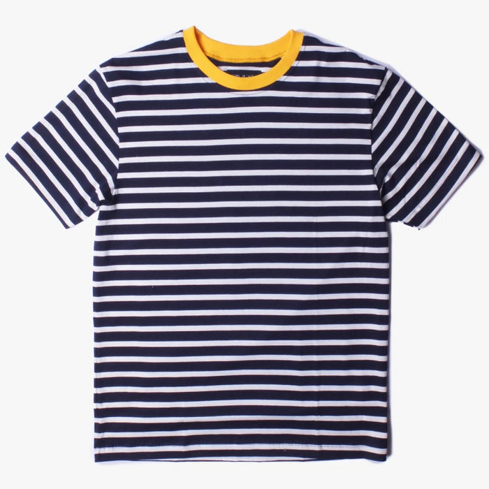 Howlin - Return of the Dragons Navy Striped T-Shirt