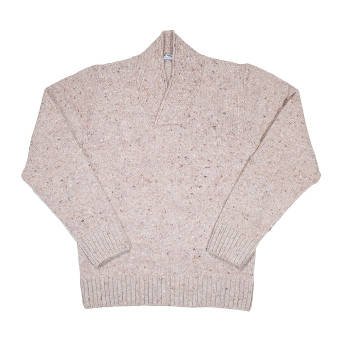 Inis Meáin - Crossover Neck Sweater 306
