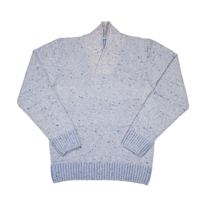 Inis Meáin - Crossover Neck Sweater 307