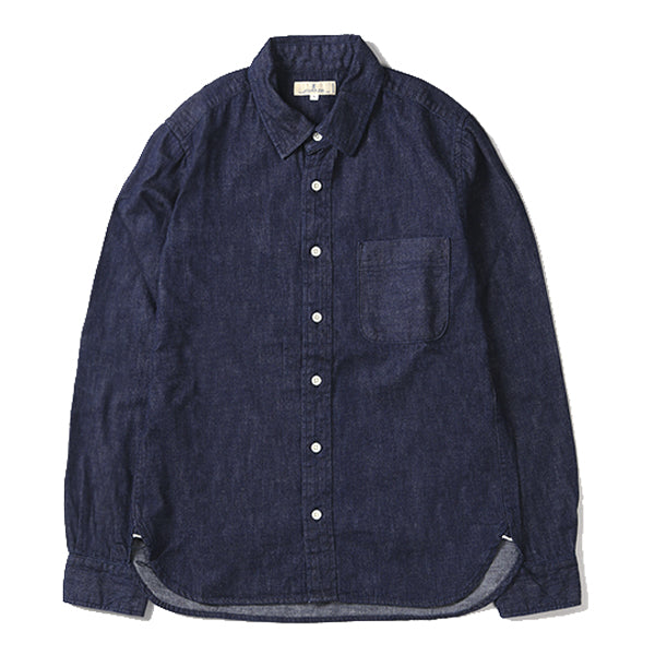 Japan Blue - 8 Oz. Selvedge Denim Button Up Shirt