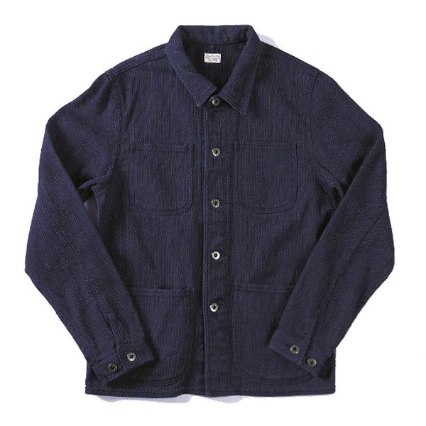 Japan Blue -Sashiko Coverall Jacket