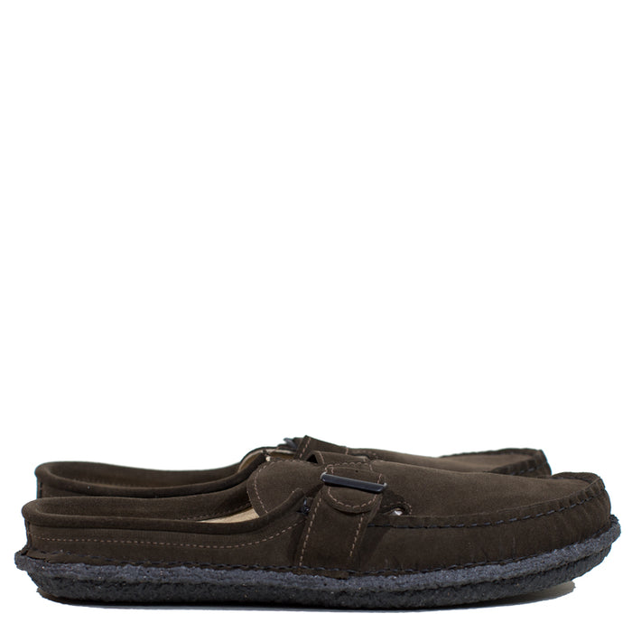 Maine Mountain Moccasin - Dark Olive Chamois RO Lazy Moc