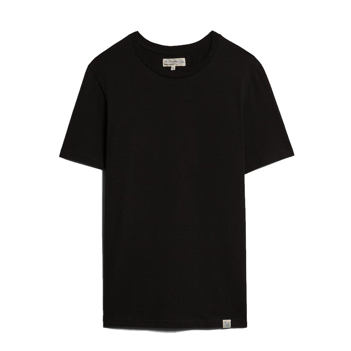 Merz B. Schwanen - Black Good Basics Crewneck T-Shirt
