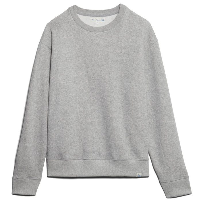 Merz B. Schwanen - Grey 346OS Oversized Loopwheeled Crewneck Sweatshirt