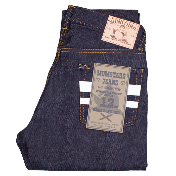 Momotaro - 0405-12SP 12oz Lightweight  Denim - High Tapered Fit