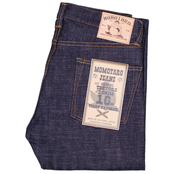 Momotaro - 0306-82 16oz Selvedge Denim - Tight Tapered Fit