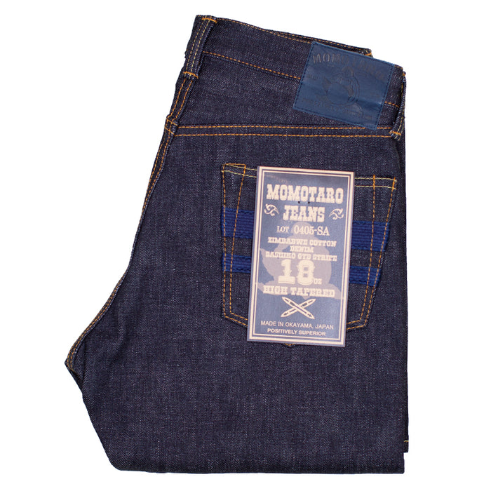 Momotaro - 0405-SA 18oz SA Zimbabwe Denim - High Tapered Fit