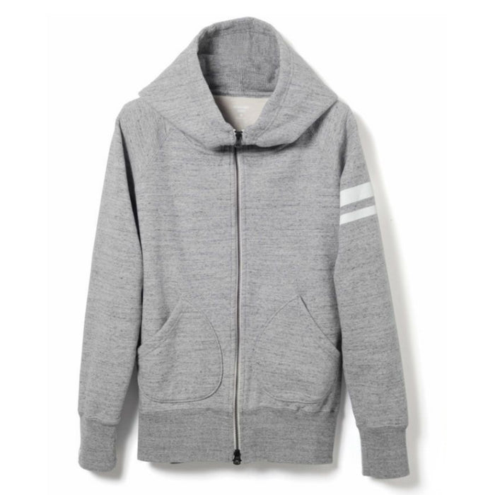 Momotaro - Grey GTB Heavyweight Zip Up Hoody