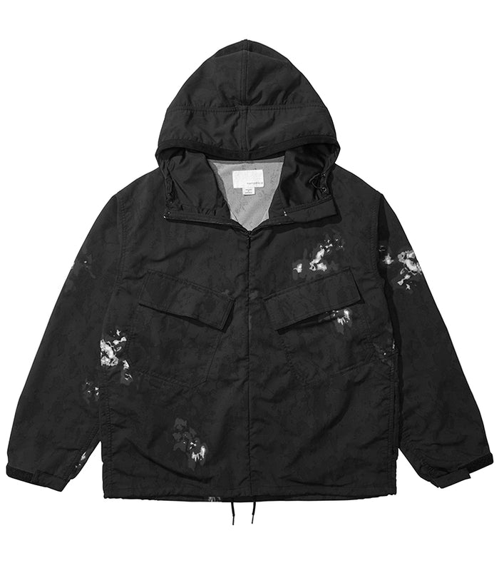 Nanamica - Alpha Dry Navy Hooded Parka