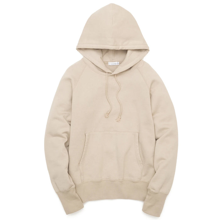 Nanamica - Beige Hooded Pullover Sweater
