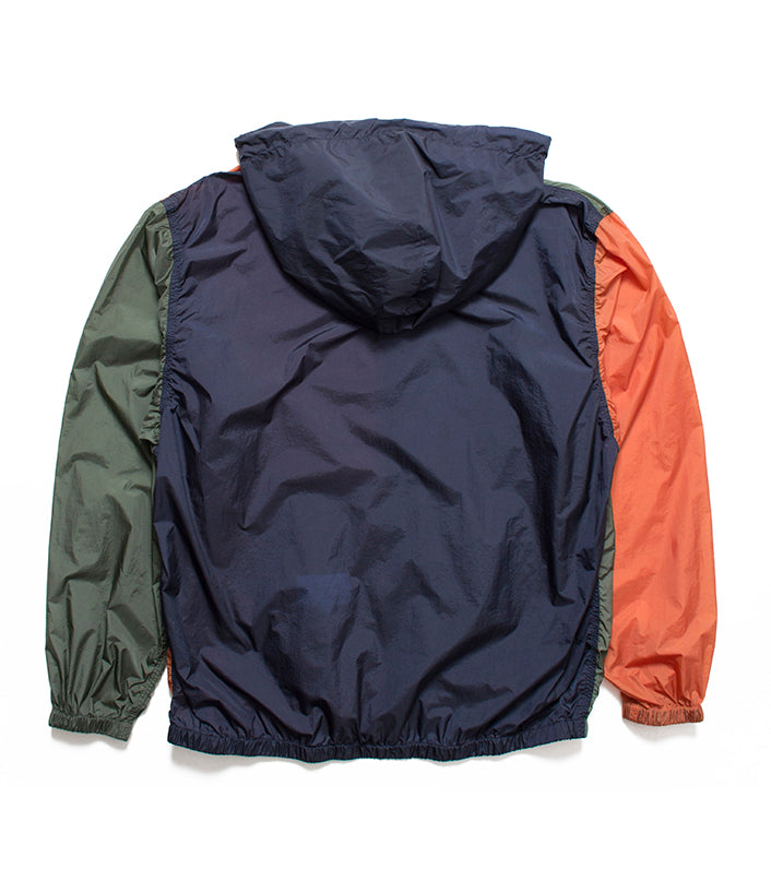 Nanamica - Navy/Orange/Khaki Packable Cruiser Jacket