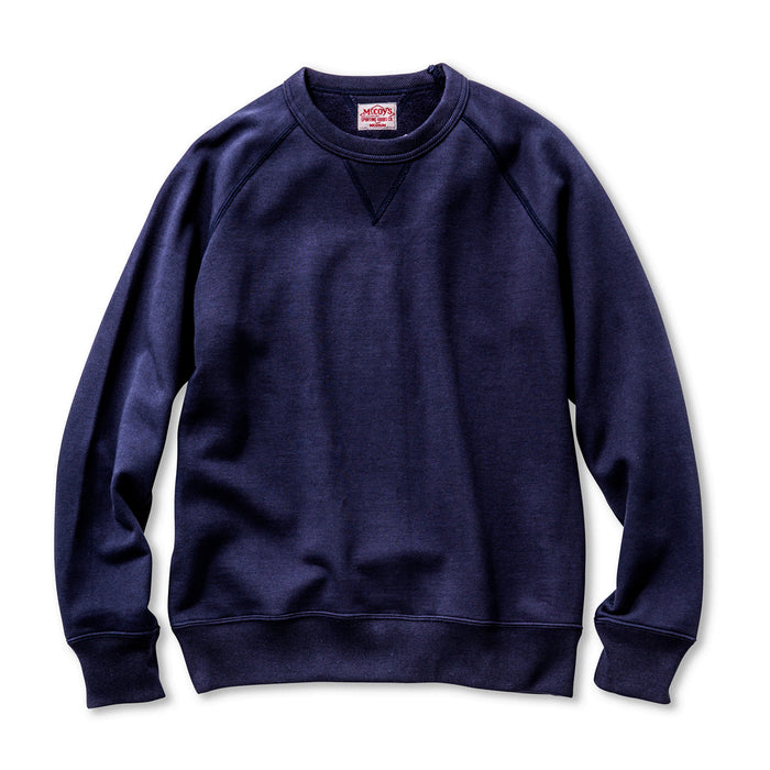 The Real McCoy's - Joe McCoy Navy Sweatshirt