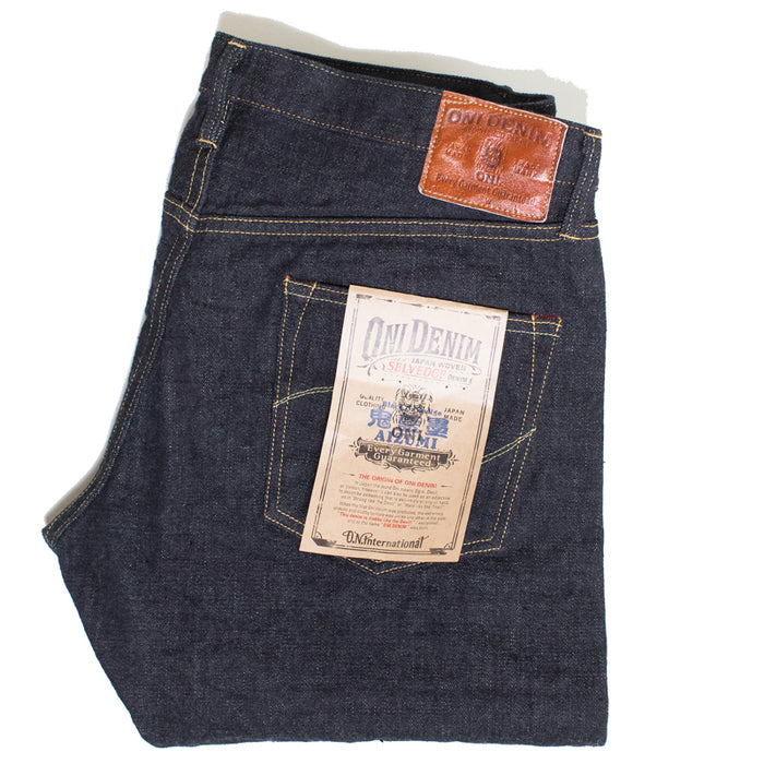 Oni Denim - 622ZR Aizumi Secret Denim 16 OZ Ink Dyed Relax Tapered