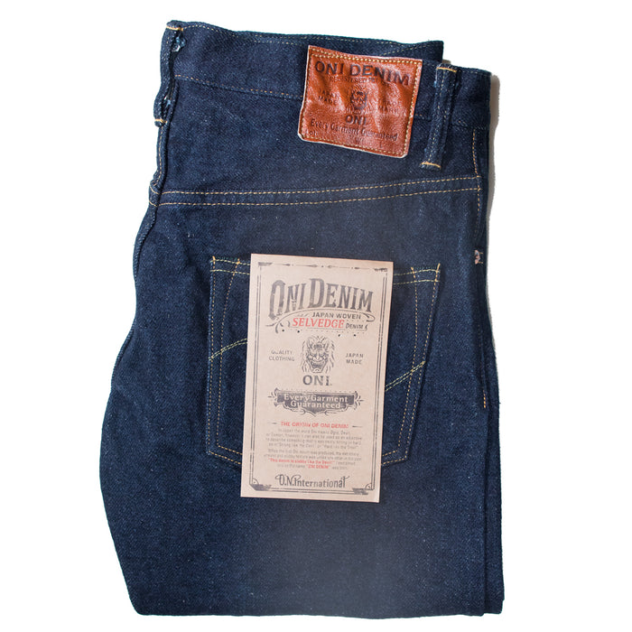 Oni Denim - 902ZR DGC 20oz Deep Green Cast High Relax Tapered