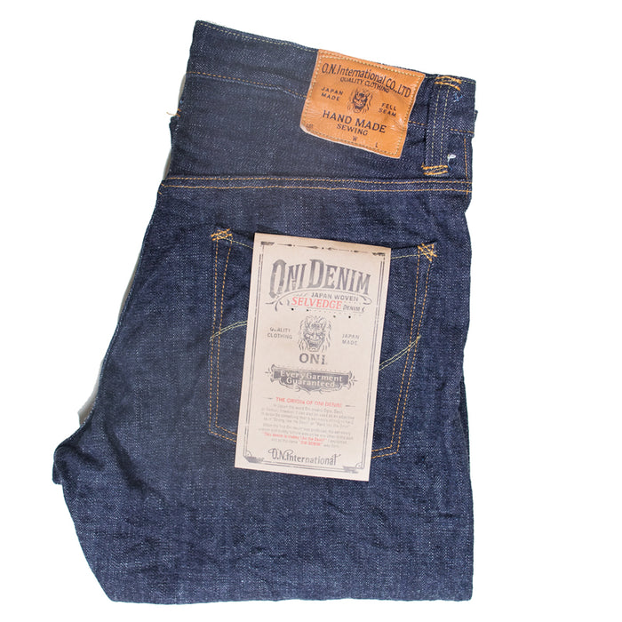 Oni Denim - 912-HM 14oz Hand Made High Relax Tapered
