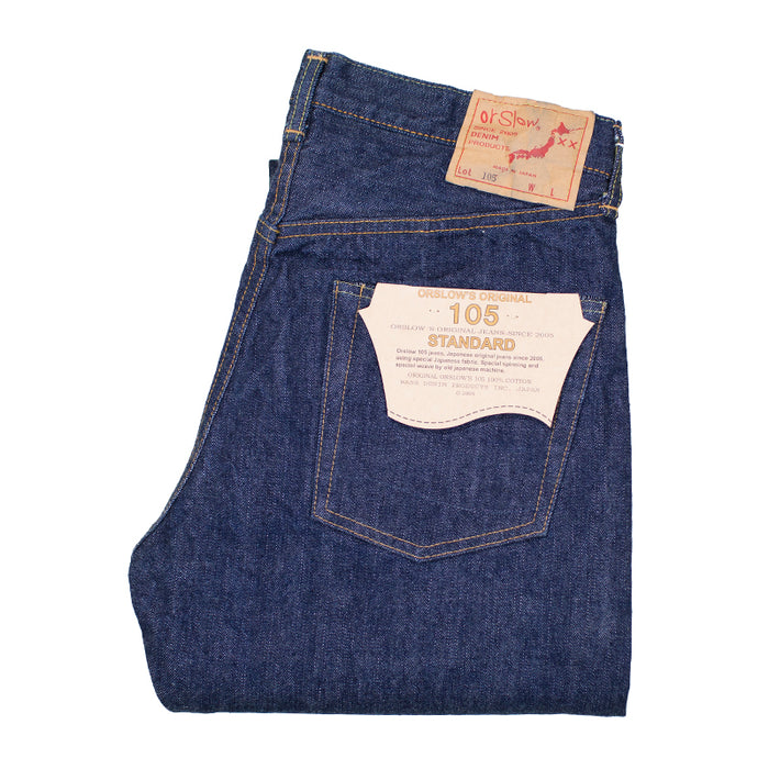 orSlow 105 13.5oz Selvedge Denim - Standard Fit