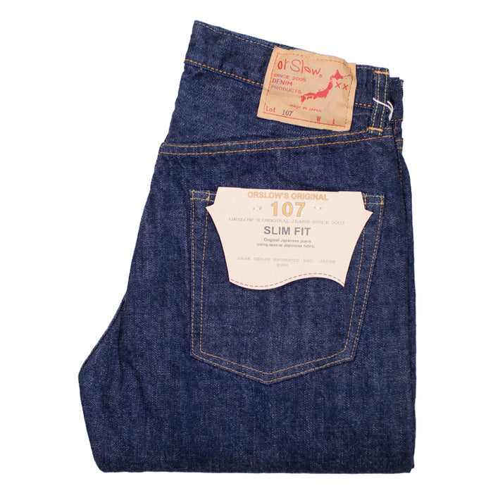 orSlow 107 13.5oz Selvedge Denim - Slim Fit