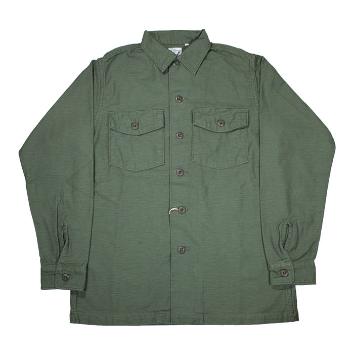 orSlow Army Shirt Green