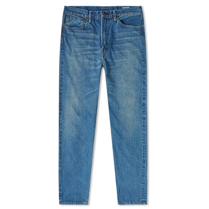 orSlow - 107 Slim Fit 2 Year Wash 13.5oz Selvedge Denim Pants
