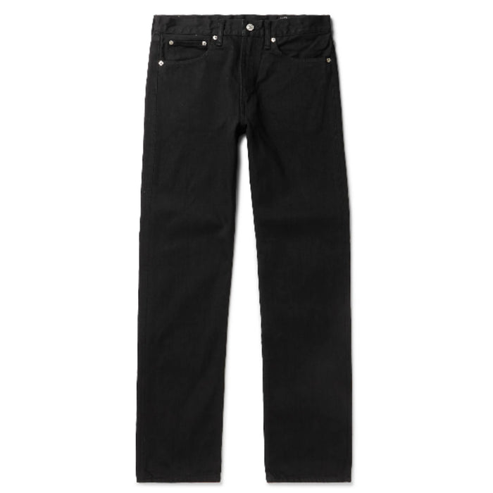 orSlow - 107 Black 13 oz Slim Fit Denim