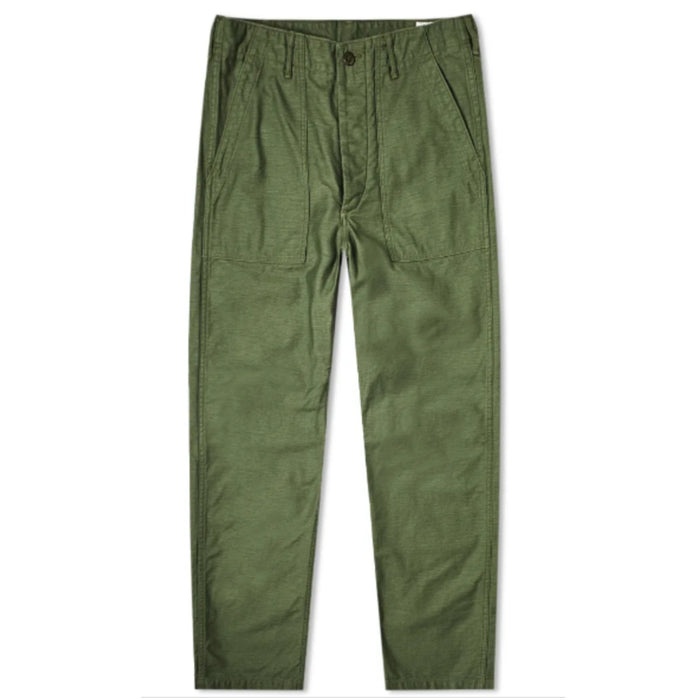 orSlow Army Fatigue Pants- Army Green