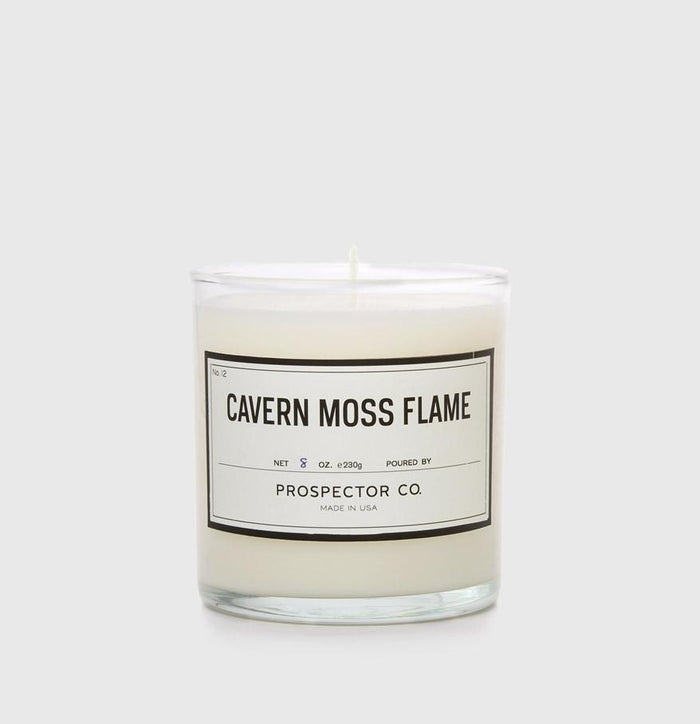 Prospector Co. - Cavern Moss Flame Candle