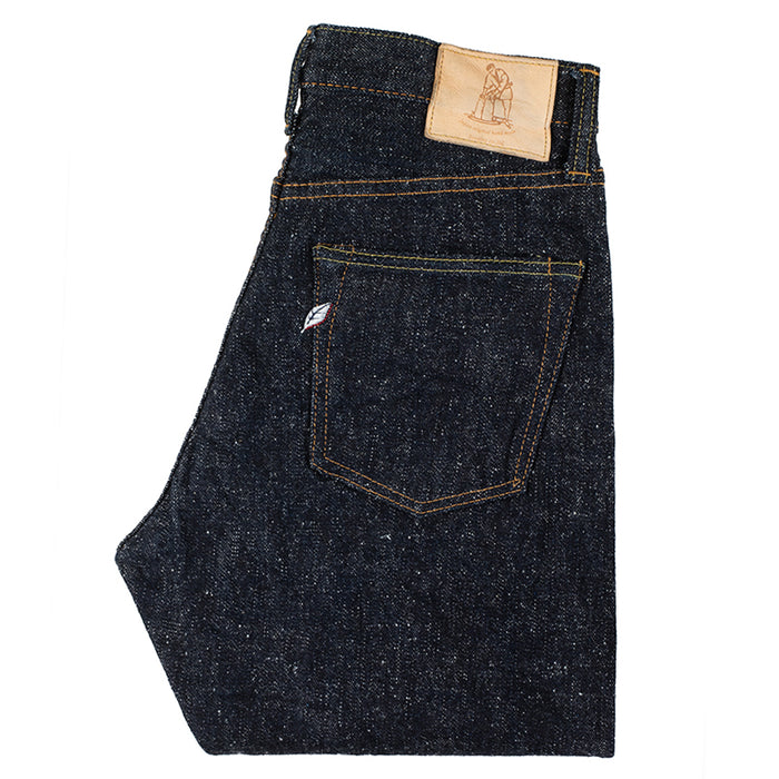 PURE BLUE JAPAN - SN-019 SNOW DENIM JEANS - Relaxed TAPERED
