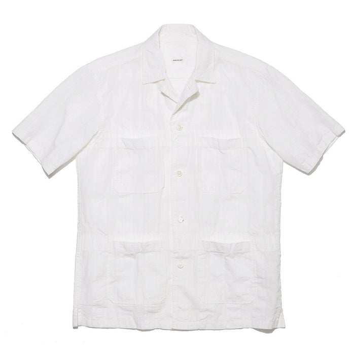 Sage de Cret Off White Camp Shirt