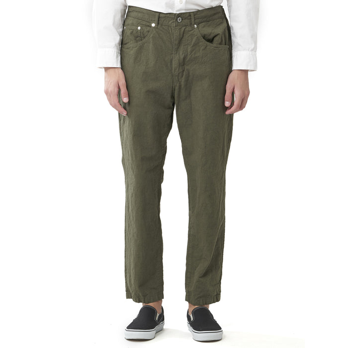 Sage de Cret - Olive Tapered Work Pants