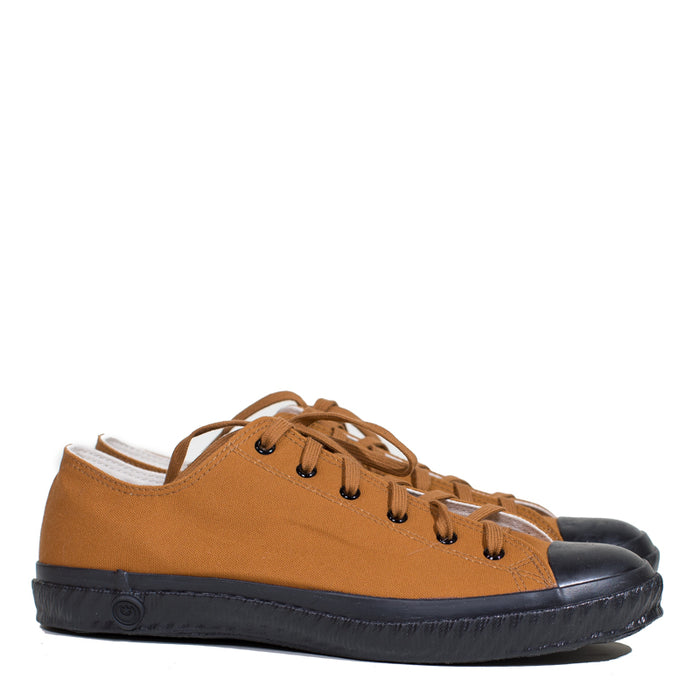 Shoes Like Pottery - Brown Low Top Vulcanized Cloth Sneaker