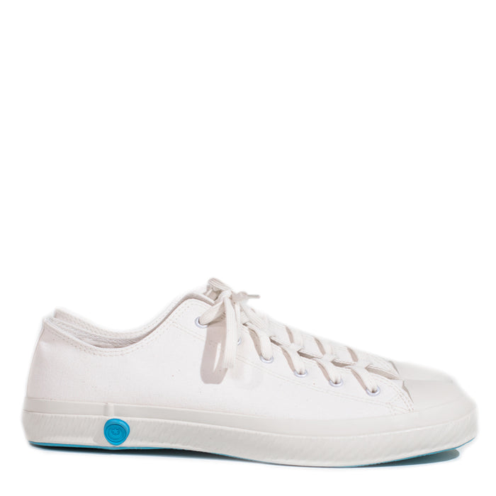 Shoes Like Pottery - White Low Top Canvas Sneaker