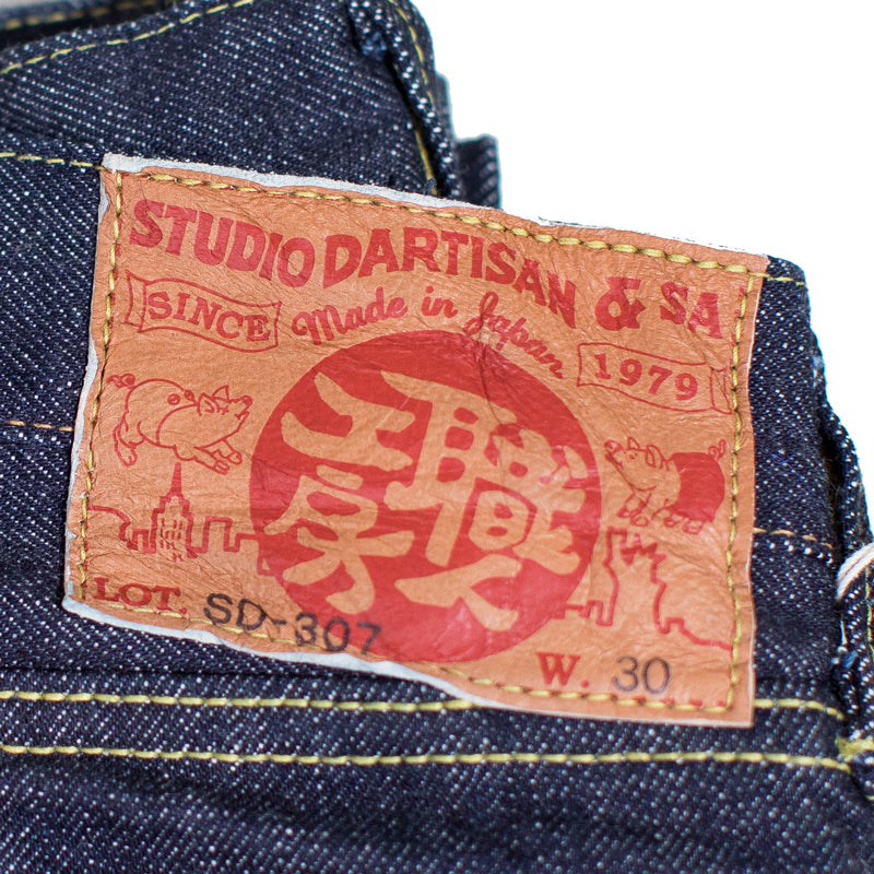 Studio D'artisan - SDA 307S 18.5 OZ. Slim Tapered Jeans