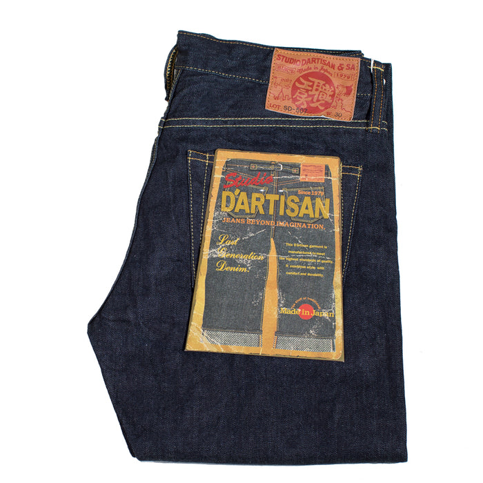 Studio D'artisan - SDA 507S 12 OZ. Slim Tapered Jeans