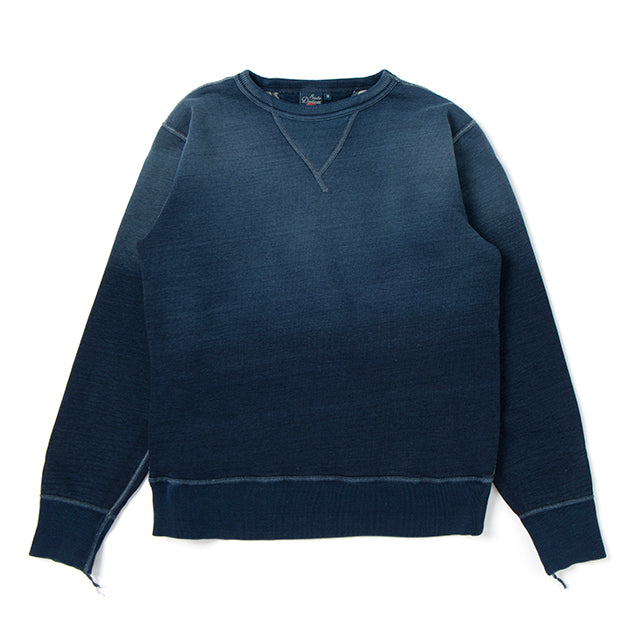 Studio D´Artisan - Real Aging Indigo Dyed Gradient Loopwheeled Sweater