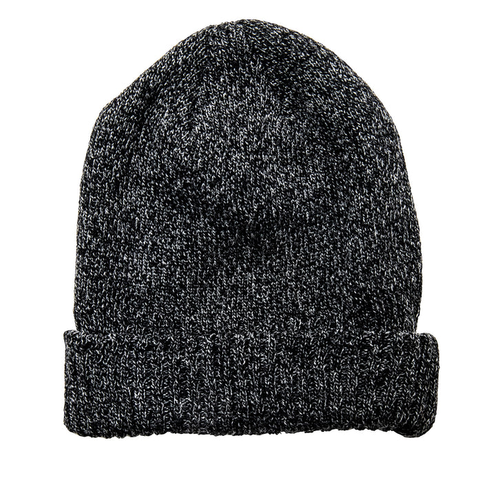 The Real McCoy's - WOOL LOGGER Black Knit Cap