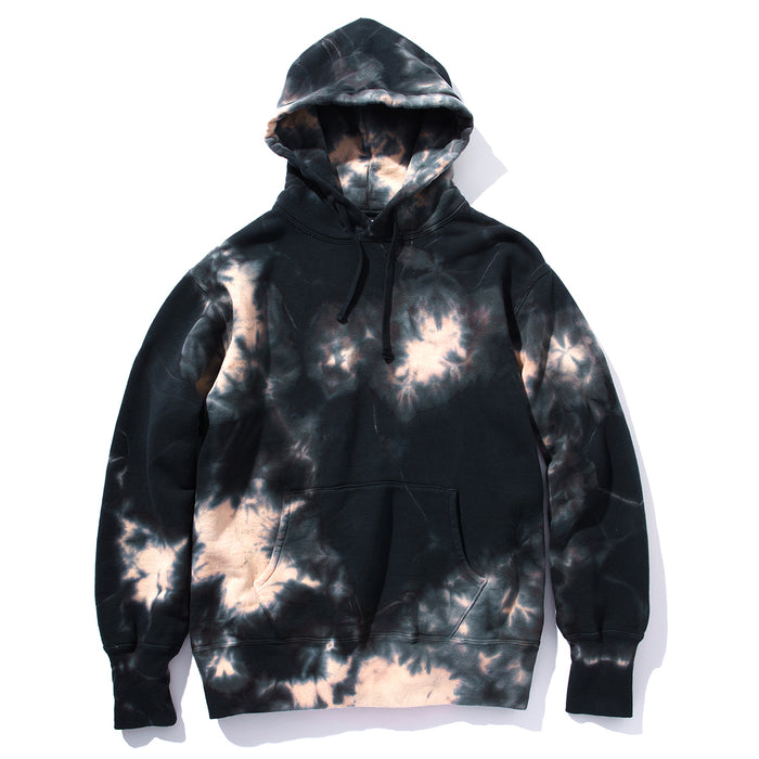 The Real McCoy's - Black Bleached Pullover Parka Grey