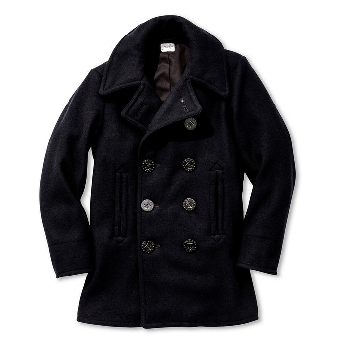 The Real Mccoy's - U.S. NAVY PEA COAT (WWII)