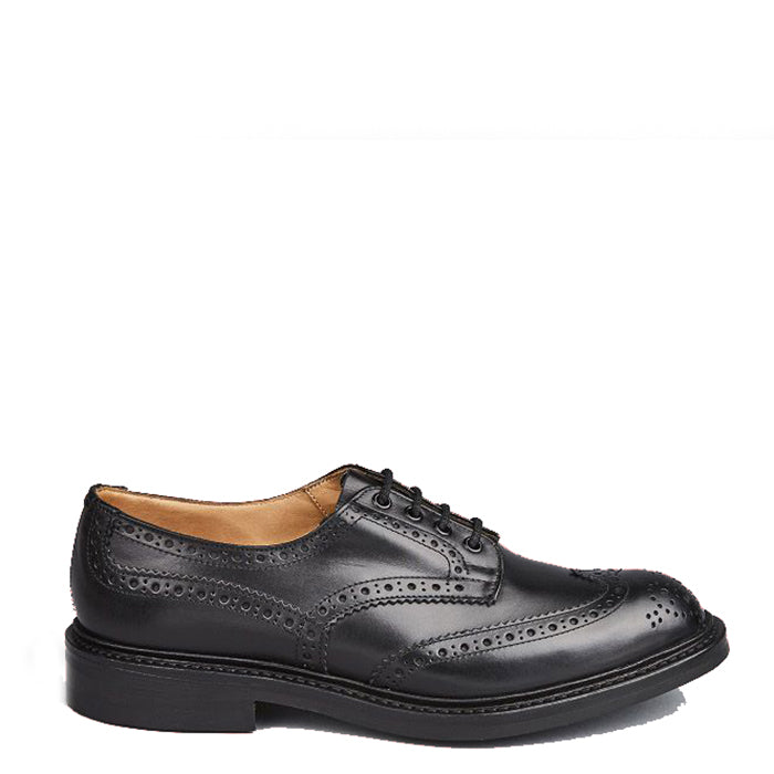 Tricker's - Black Box Calf Bourton Derby Shoe