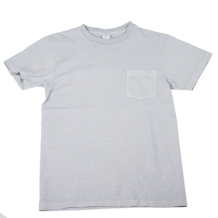 Velva Sheen - Pigment Dye Grey Pocket T-Shirt