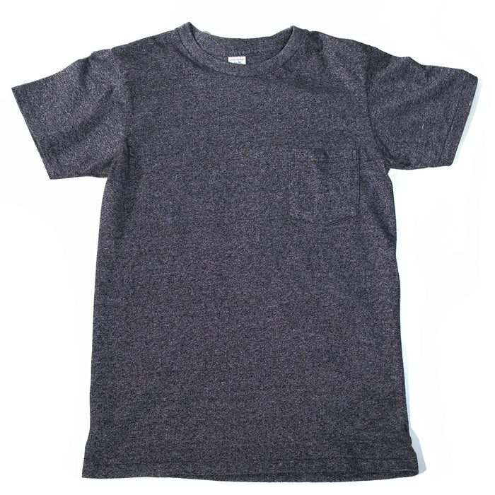 Velva Sheen - Heathered Black Pocket T-Shirt