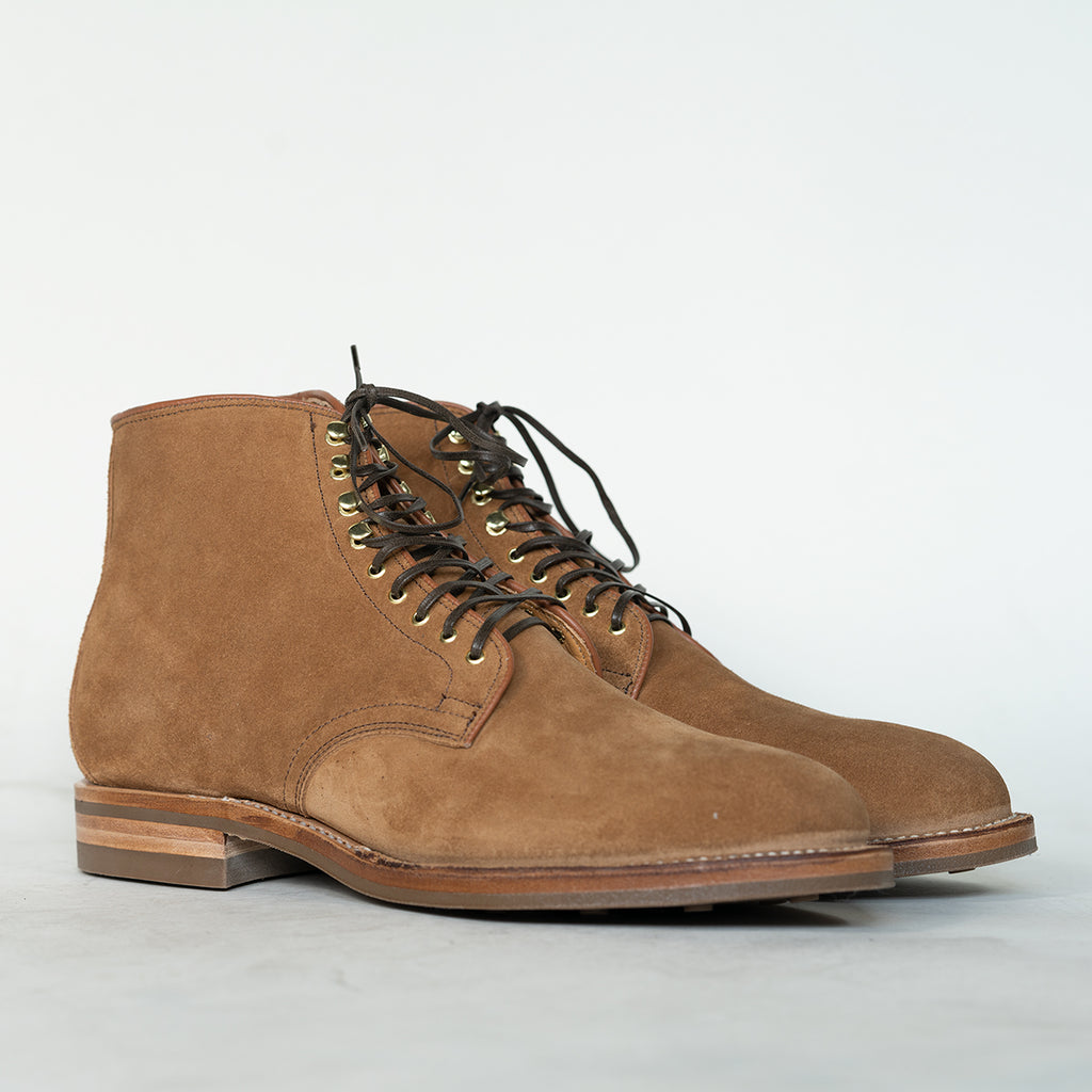 Viberg - Anise Calf Suede Derby Boot 2020 Last
