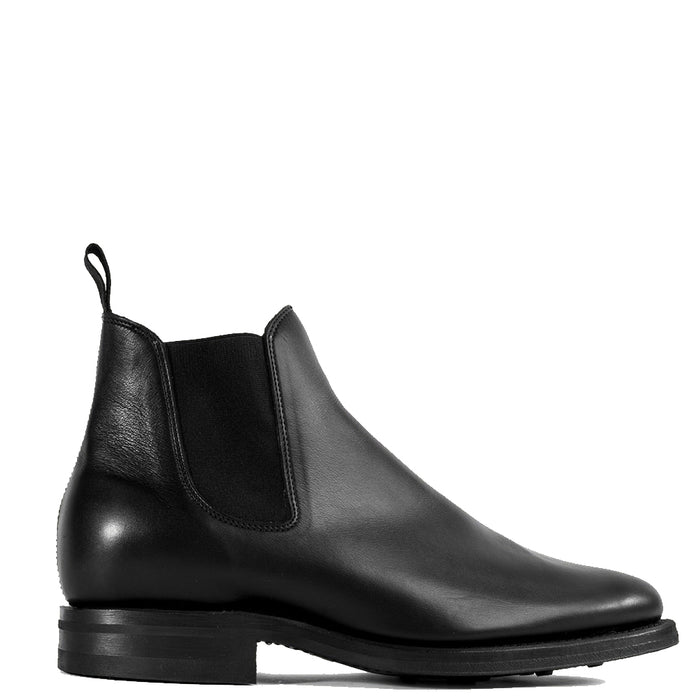 Viberg - Black Calf Chelsea Boot 2050 Last