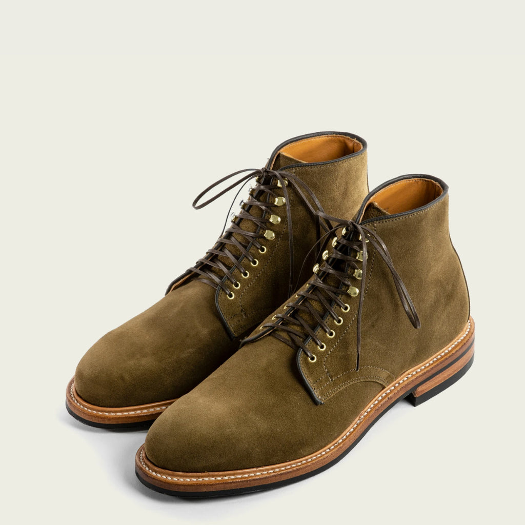 Viberg - Bamboo Calf Suede Derby Boot 2020 Last