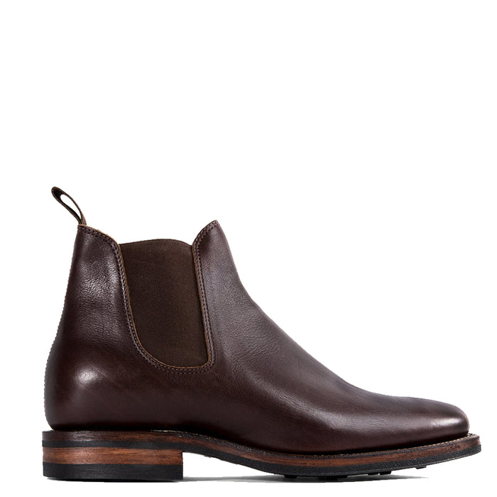 Viberg - Brown Calf Chelsea Boot 2050 Last